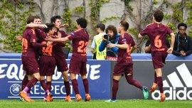 Барселона U-19 разгромила Челси U-19 и выиграла Юношескую лигу УЕФА
