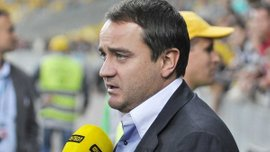 Павелко прокомментировал заключение контракта Баранки