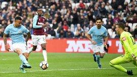 Манчестер Сити разбил Вест Хэм