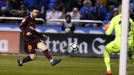 Депортіво – Барселона: Мессі забив переможний гол після класної комбінації