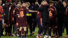 Барселона показала, як святкувала 25-е чемпіонство Іспанії