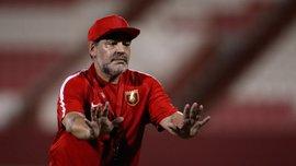 Марадона передумав покидати посаду тренера Аль-Фуджайри