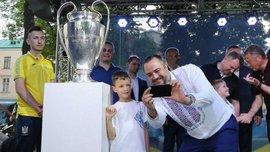 Львів зустрів Кубки Ліги чемпіонів УЄФА – як це було