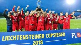 Девич в составе Вадуца выиграл Кубок Лихтенштейна