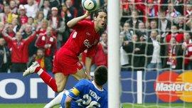 13 лет назад гол-призрак вывел Ливерпуль в легендарный стамбульский финал Лиги чемпионов