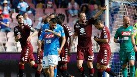 Наполі не зміг виграти у Торіно, Фіорентина перемогла Дженоа, Лаціо та Аталанта зіграли внічию
