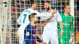 Барселона – Реал: як Роналду забив 400-й гол Мадрида у Класіко і встановив декілька рекордів