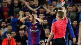 """Реал впервые за 9 лет сыграл в большинстве против Барселоны на """"Камп Ноу"""""""