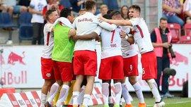 Зальцбург пятый раз подряд стал чемпионом Австрии