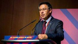 Бартомеу: В президентской ложе с некоторыми решениями арбитра не соглашались