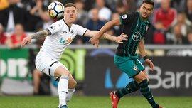 Суонсі – Саутгемптон – 0:1 – відео гола та огляд матчу