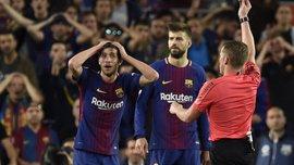 Барселона подала апеляцію на дискваліфікацію Серхі Роберто