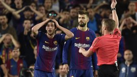 Барселона подала апелляцию на дисквалификацию Серхи Роберто