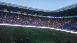 Розминка в сутінках і божевілля на трибунах. Як пройшов фінал Кубка України