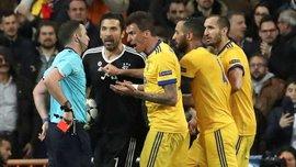 Реал – Ювентус: УЕФА открыл дело против Буффона сразу по двум статьям