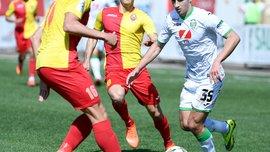 Зірка – Карпати: Фатєєв отримав травму на старті матчу