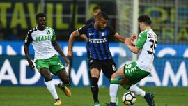 Интер – Сассуоло – 1:2 – видео голов и обзор матча
