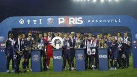 ПСЖ прервал свою рекордную серию в чемпионате Франции