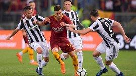 Ювентус сыграл вничью с Ромой и в седьмой раз подряд стал чемпионом Италии