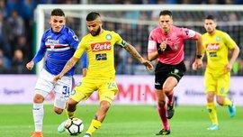 Сампдория – Наполи – 0:2 – видео голов и обзор матча