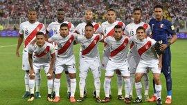 Сборная Перу обнародовала предварительный список футболистов, которые поедут на ЧМ-2018