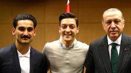 Президент DFB Гріндель розкритикував Озіла та Гюндогана за зустріч з Ердоганом