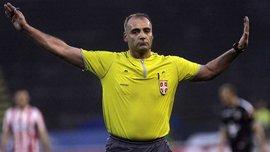 Арбітр у Сербії був заарештований після матчу через призначення 2-х пенальті та вилучення