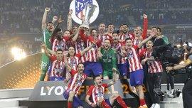 Марсель – Атлетико: церемония награждения