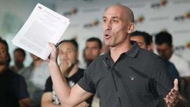 Рубиалес возглавил Федерацию футбола Испании