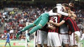 Милан разгромил Фиорентину, Кротоне отправился в Серию Б