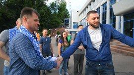 Динамо – Шахтер: Бойцы АТО посетили матч