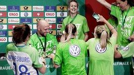 Финал Лиги чемпионов в Киеве: финалистки женского турнира прибыли в столицу и провели тренировку