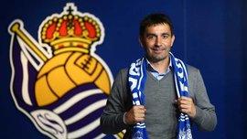 Асиер Гаритано возглавил Реал Сосьедад