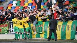 Друга ліга: тернопільська Нива обіграла Арсенал-Київщину, Дніпро та Нікополь розійшлися нічиєю