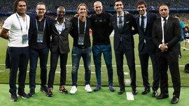 Фінал Ліги чемпіонів у Києві: 5 екс-зірок Реала з'явились у фан-зоні та емоційно підігріли атмосферу