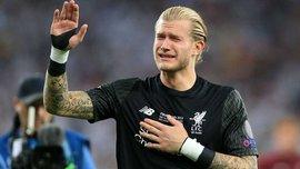 Сборная Германии поддержала Кариуса после финала Лиги чемпионов