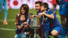 Видео дня. Как сыновья Месси трогательно болели за Аргентину