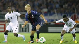 Гана обіграла Японію з Кагавою у складі