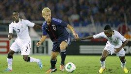 Гана обыграла Японию с Кагавой в составе