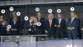 Фінал Ліги чемпіонів у Києві: іспанці проаналізували VIP-ложу – від Порошенка і короля до легенд і скандаліста
