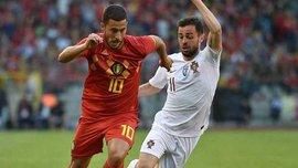 Бельгия и Португалия сыграли в сухую ничью