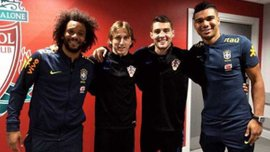 Гравці Реала зробили фото на Енфілді, чим розізлили фанатів Ліверпуля