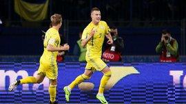 Албания – Украина: Ярмоленко забил свой первый гол в матче, уничтожив с Коноплянкой всю защиту