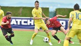 Украина разбила Албанию: Ярмоленко принял участие в 4-х голах, Коноплянка – в 3-х