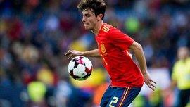 Іспанець Одріосола вишукано відкрив рахунок у матчі зі швейцарцями