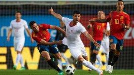 Испания – Швейцария – 1:1 – видео голов и обзор матча