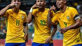 ЧС-2018: Неймар продемонстрировал атмосферу в сборной Бразилии накануне турнира