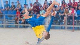 Збірна України з пляжного футболу стартує в Євролізі матчем проти Швейцарії