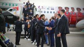 ЧМ-2018: сборная Египта прибыла в Грозный, Салах познакомился с Кадыровым