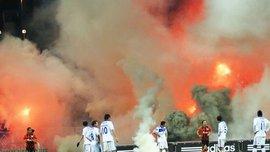 Динамо наказали матчем без зрителей из-за поведения болельщиков